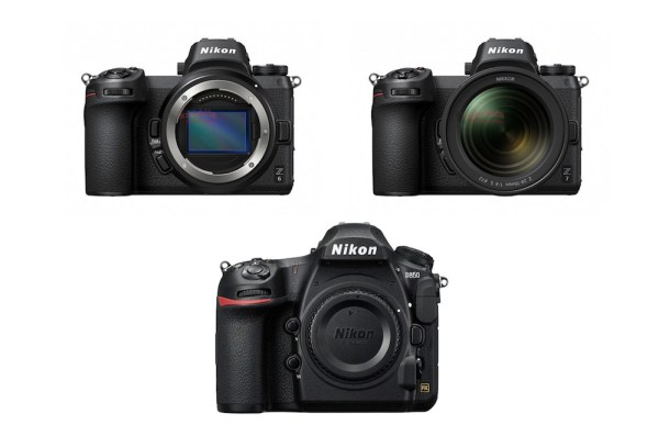 Nikon Z6 vs Nikon Z7 vs Nikon D850 Specifications Comparison