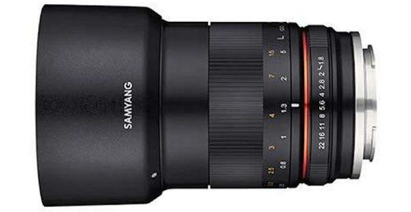 Samyang MF 85mm f/1.8 ED UMC CS for APS-C Mirrorless Cameras