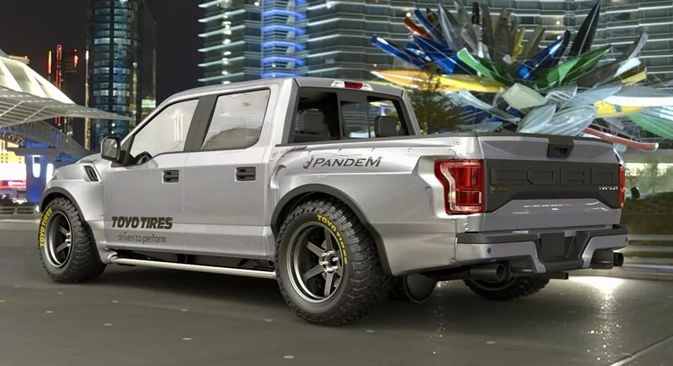 Pandem-Rocketbunny-150-Raptor-Rear-Dailycarblog