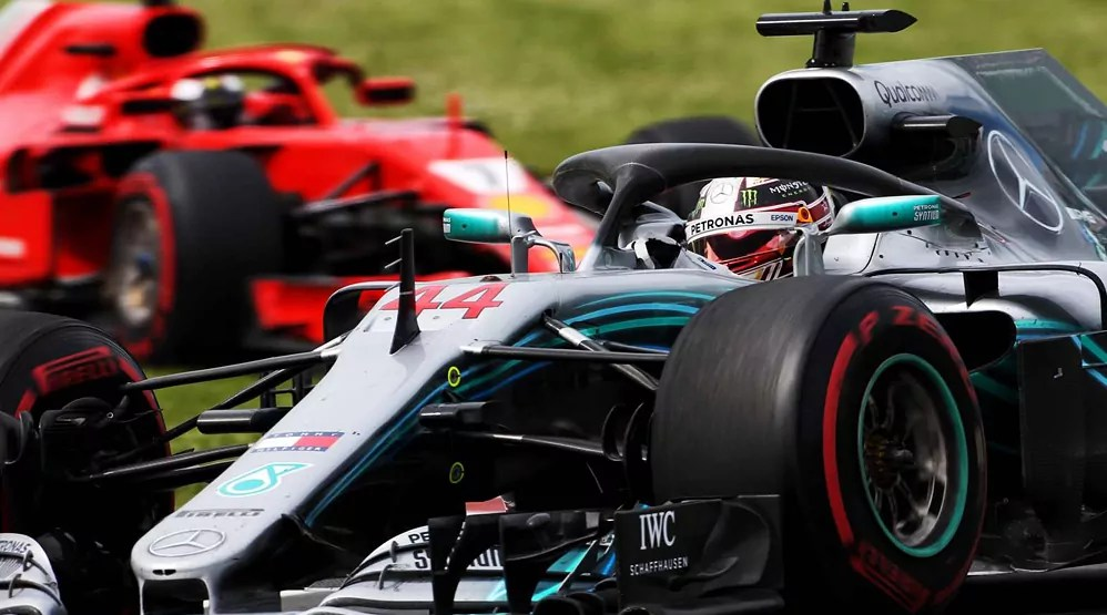 Lewis Hamilton struggles with engine problems at the 2018 Canadian Grand Prix