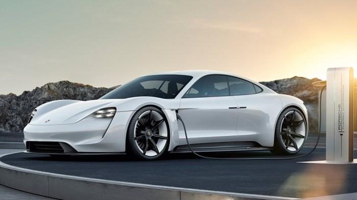 Porsche Taycan, electric car, dailycarblog.com