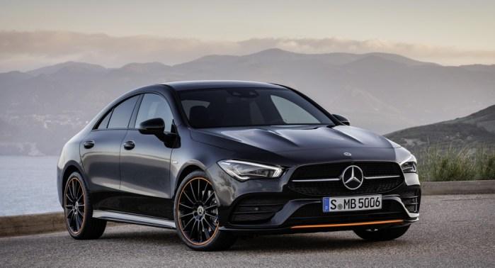Mercedes CLA Coupe, 2019, front view, Dailycarblog.com