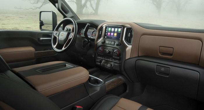 Chevrolet Silverado 2019 spec, interior, dailycarblog.com