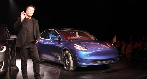 Tesla Model Y launch dailycarblog.com