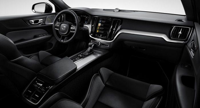 Volvo S60 R Design interior UK dailycarblog.com