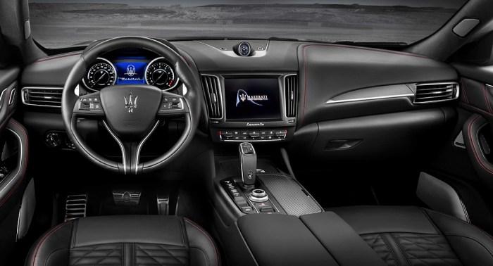 Maserati Levante Super Trofeo interior