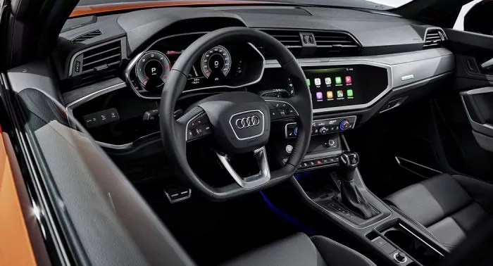 The Audi Q3 Sportback interior Dailycarblog.com
