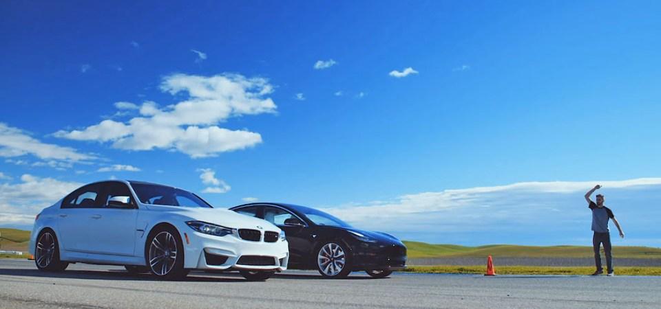 BMW vs Tesla dailycarblog.com