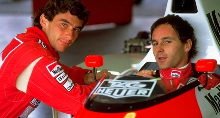 Gerhard Berger in his McLaren days dailycarblog.com