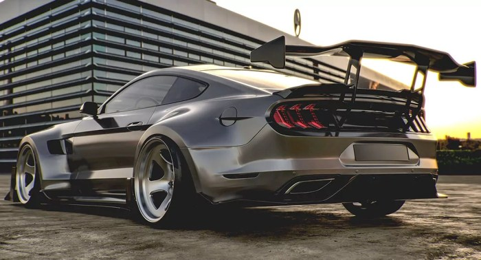 Ford Marstang - Rear - Hugo Silva Designs - Dailycarblog.com