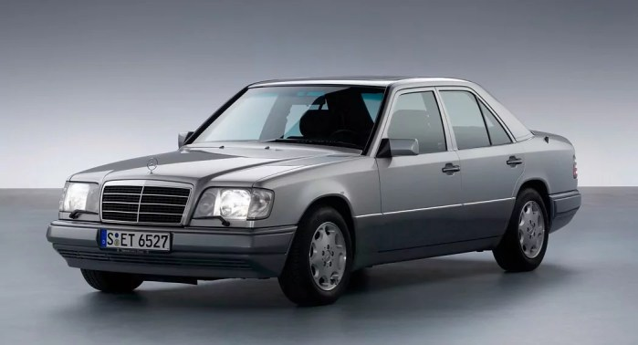 Classic Car - Mercedes W124 - Dailycarblog.com