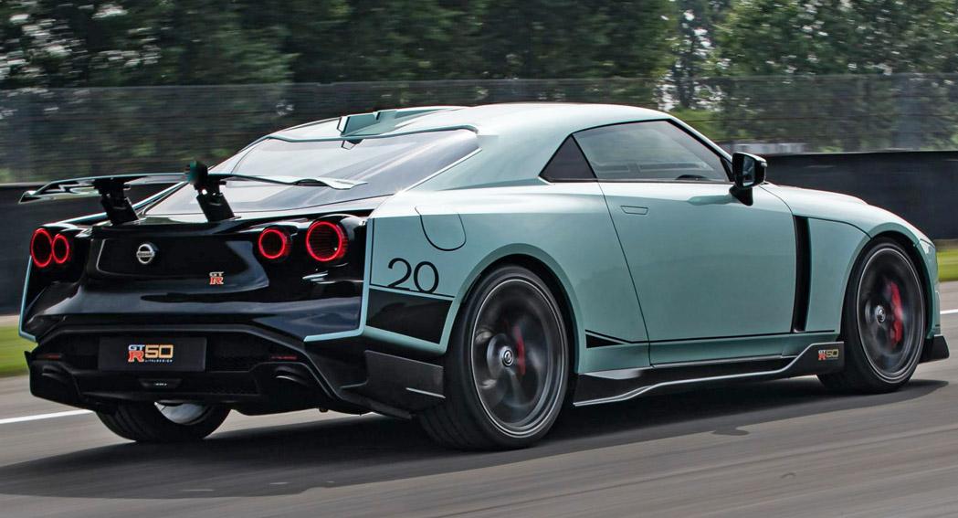 Nissan GT-R 50, RQ, dailycarblog