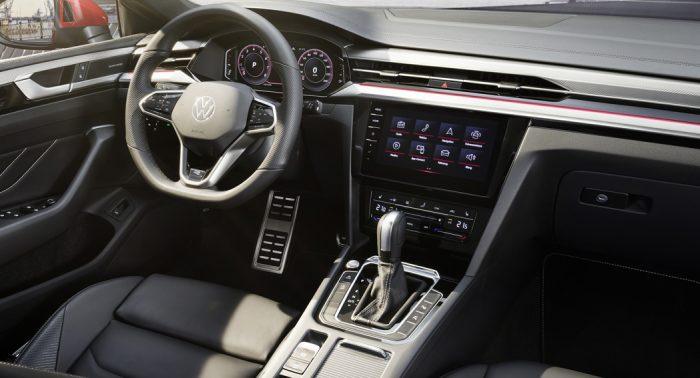 VW Arteon 2020 Update, interior, dailycarblog