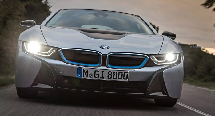 Proper headlights, BMW i8, dailycarblog