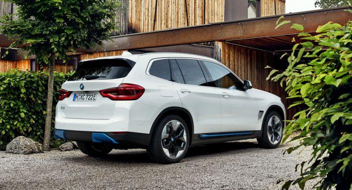 BMW iX3 EV SUV, RQ, dailycarblog