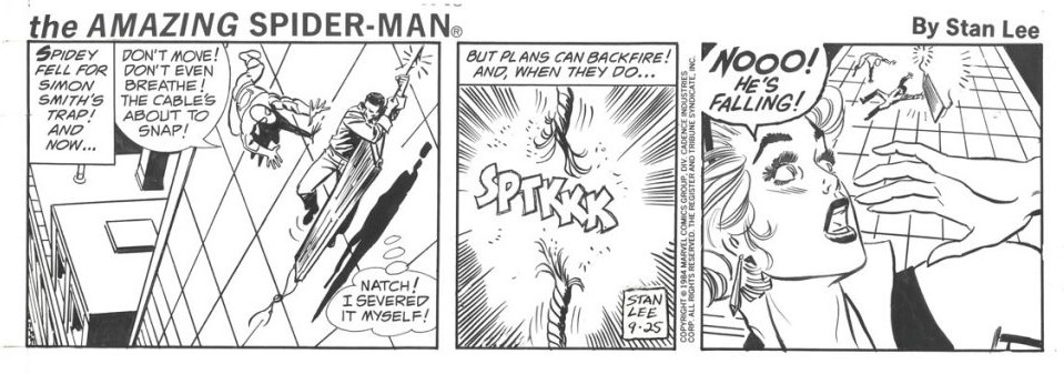 The Future of The Amazing Spider-Man Comic Strip – Updated with Joe