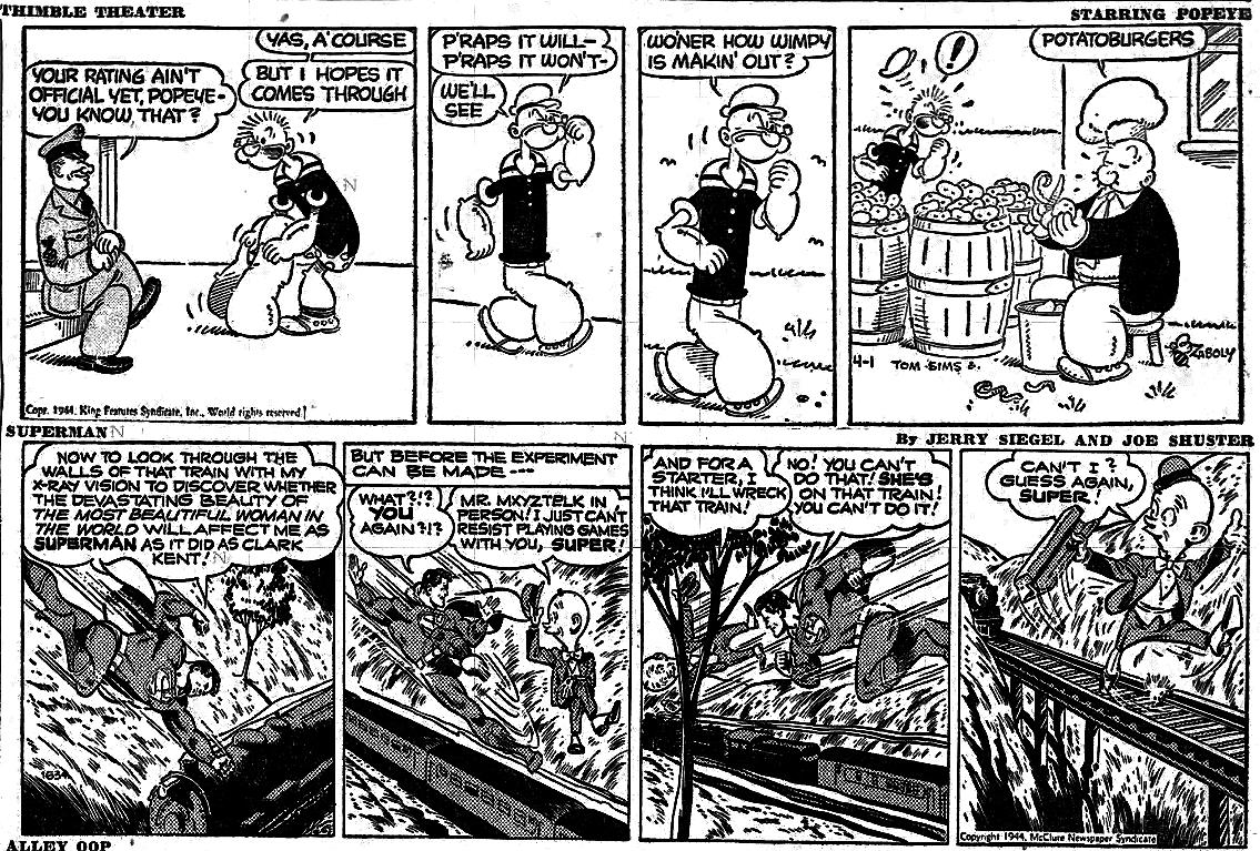 CSotD: 75 Years Ago The Daily Cartoonist