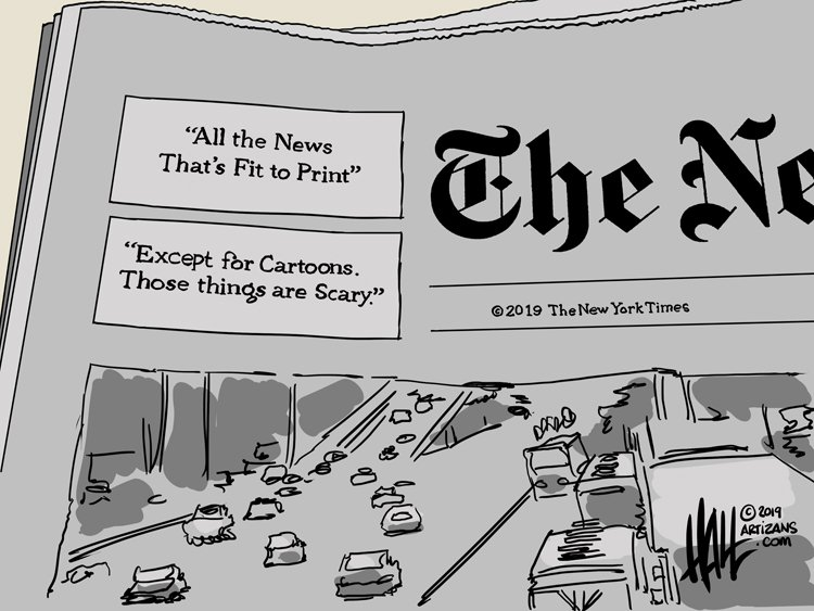 Cartoonists React To New York Times Cartoon Ban The Daily Cartoonist