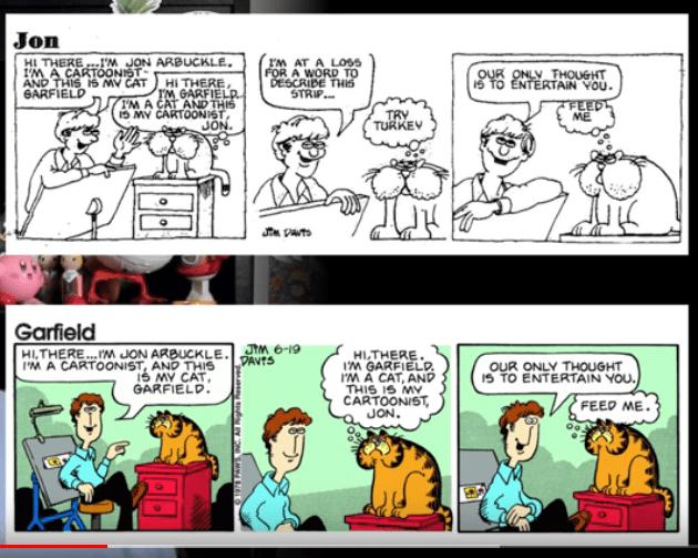 Newly Discovered Davis Pre Garfield Garfield Updated The Daily Cartoonist
