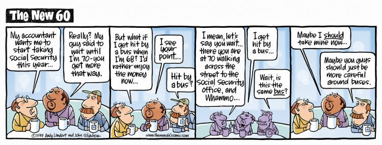 The New 60 - A Comic Strip About Baby Boomers The Daily ...