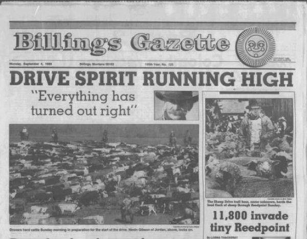 Stan Lynde & the Great Montana Cattle Drive of '89 The Daily