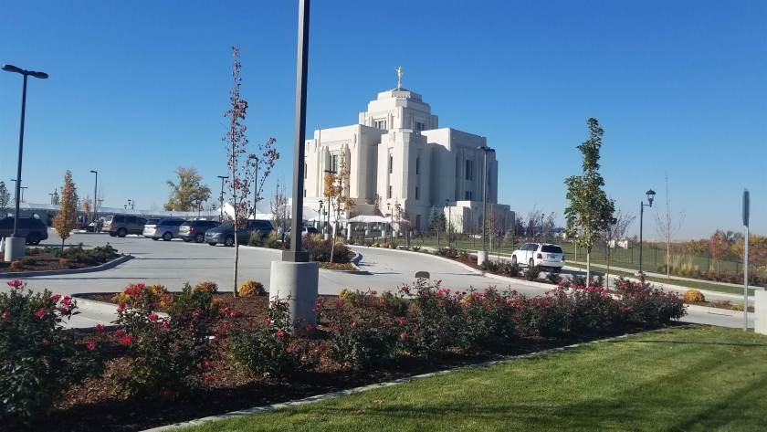 Witnessing At the Meridian Idaho Temple Dedication