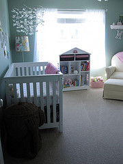 Nursery-Looking into the room