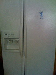 refrigerator magnet (Photo credit: tray)