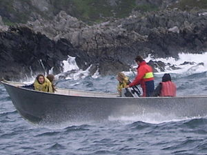 Power boat ride around Lunga, Argyll Scotland (Photo credit: Wikipedia)