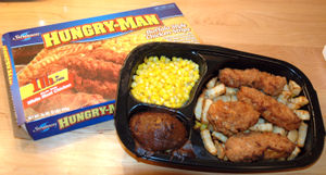"A Swanson ""Hungry-Man"" TV dinner, co..."