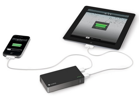 Mophie Juice Pack Powerstation Duo - For Smartphones and Tablets