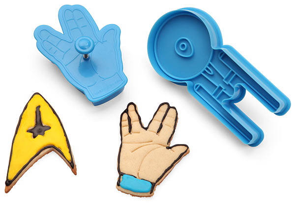 Star Trek Cookie Cutters