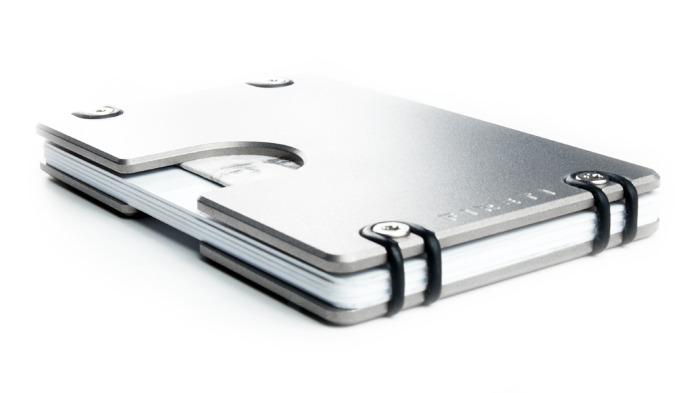 Omega - Compact Solid Titanium Wallet
