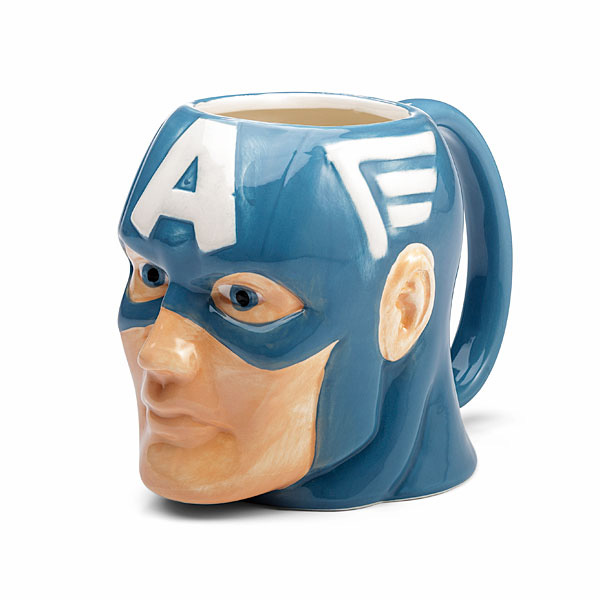 Captain America 16oz Molded Mug
