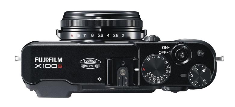 Fujifilm X100S Camera Top View