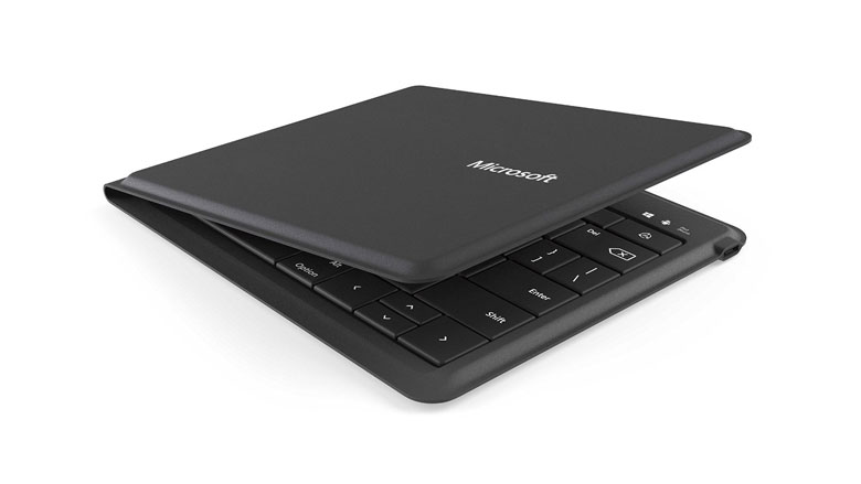 Microsoft Universal Foldable Keyboard Folded
