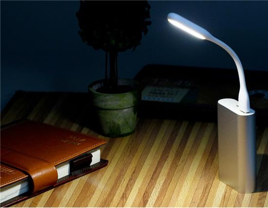Portable USB LED Lamp for Power Bank & Computer