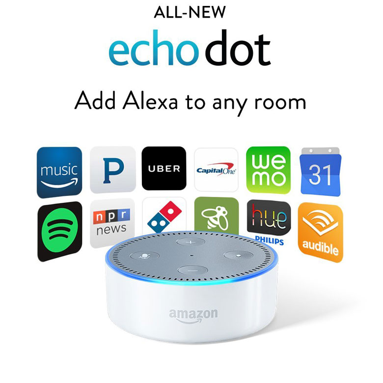 Echo Dot (2nd Generation) Apps