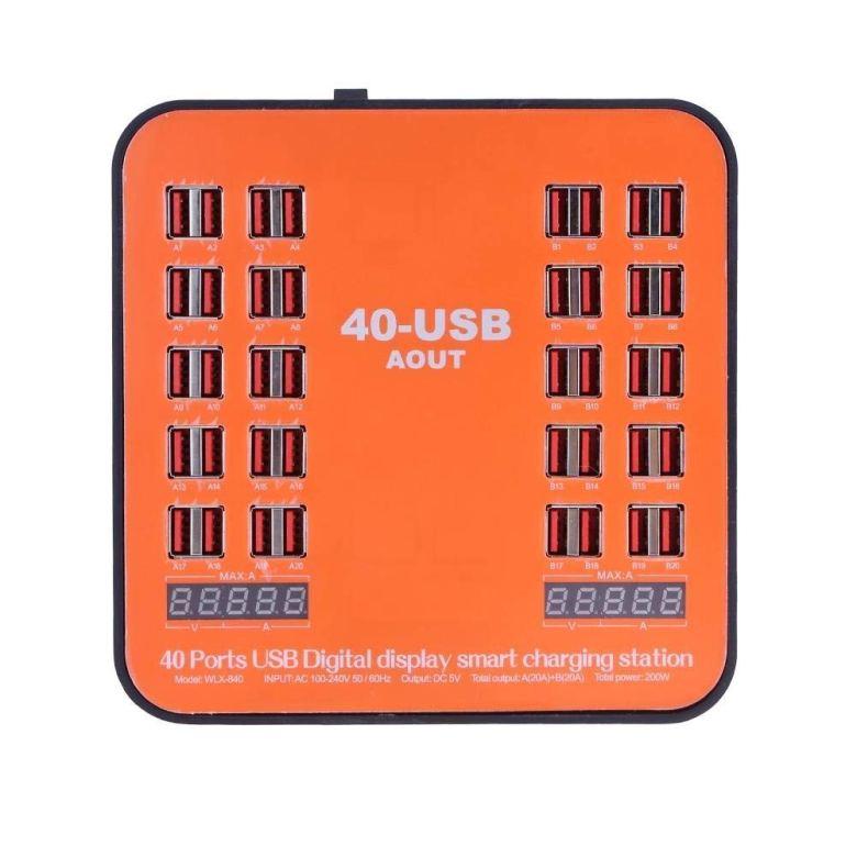 40 Ports USB Power Station