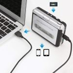 Cassette Player Tape Converter to MP3 via USB