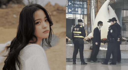 Ouyang Nana Gets Physically Harrassed By Male Fan