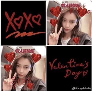 Screenshot-2021-02-15-at-1.22.23-PM Angelababy Shares Valentine Days Selfies