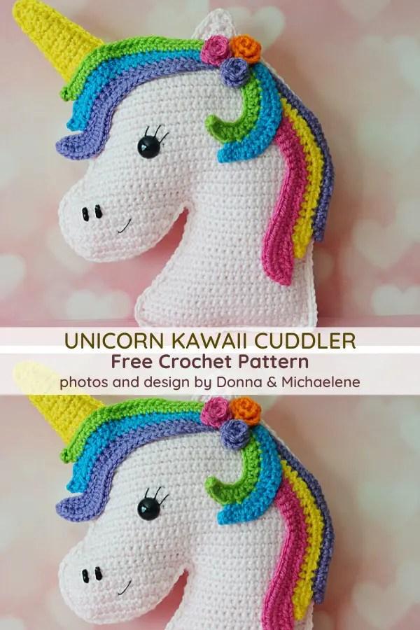 Most Adorable Unicorn Kawaii Cuddler