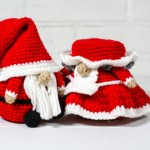 Simple Christmas Gnomes Free Crochet Patterns Knit And Crochet Daily