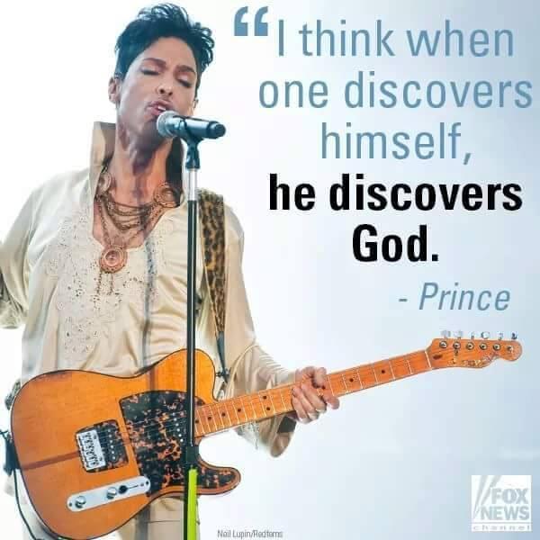 prince discover god