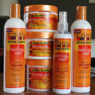 Reseña de los productos cantu para el cabello rizado