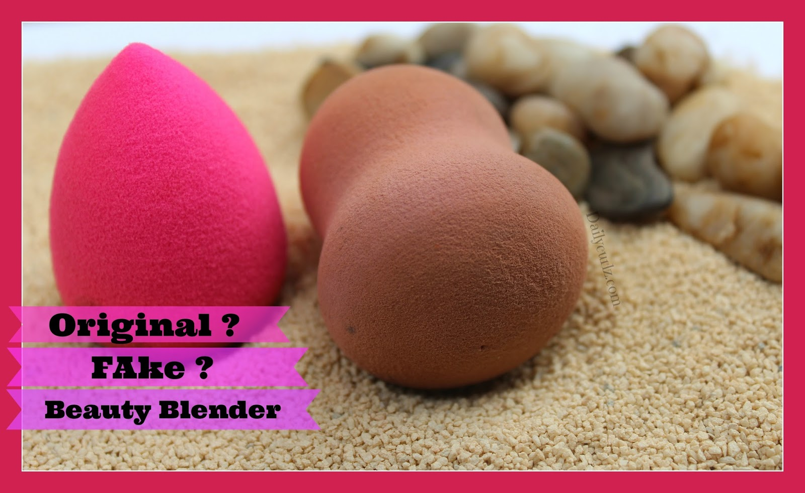 fake or real beautyblender original o imitación esponja de