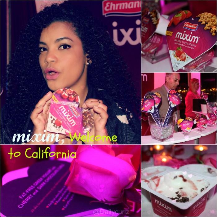 Show your curls some love with Mixim greek yogurt / Bienvenido Mixim a CA
