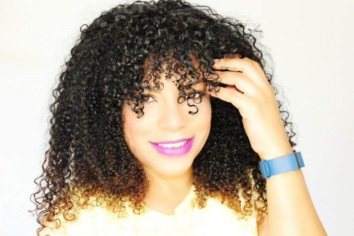 new Garnier Fructis for curly hair