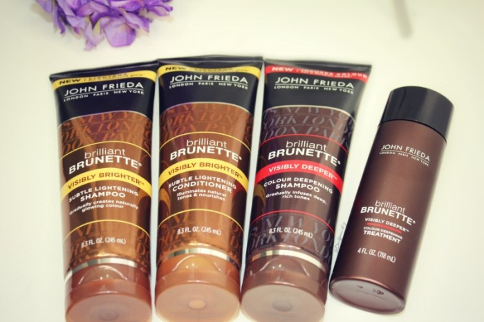 Hair gloss products